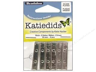 Beadalon Katiedids Stick 35mm 2 Holes SP 6pc