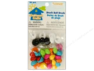 Sulyn Clubhouse Crafts Beach Ball Beads Multi 36pc