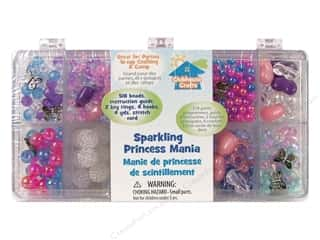 Kid Crafts Beads: Sulyn Clubhouse Crafts Bead Mania Box Assorted Sparkling Princess