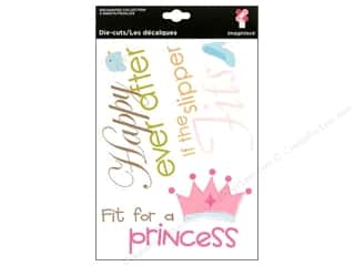 Imaginisce Die Cut Enchanted Cardstock MakeBelieve