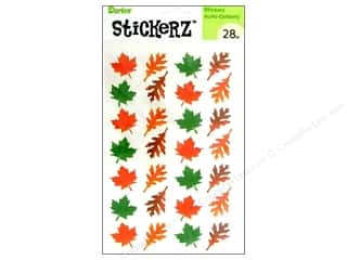 Darice Sticker 5&quot;x 8&quot; Fall Leaves