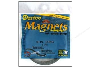 Magnets: Darice Magnet Strip 1/2&quot;x 30&quot;