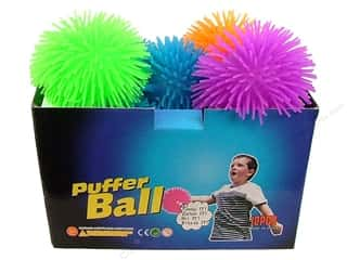 Games / Toys: Darice Kids Light Up Porcupine Ball