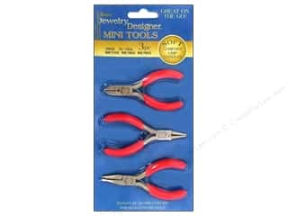 "Darice Jewelry Designer Tool Pliers 3"" Mini 3pc"