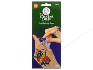 Boye Crochet Dude Stress Relief Gloves Large