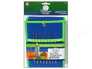 boye crochet: The Crochet Dude Steel Crochet Hook Set 8 pc. Size 00-9