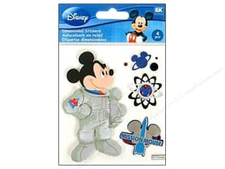Mickey: EK Disney Sticker 3D Mickey Space