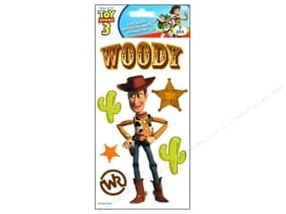 EK Disney Sticker 3D Lg Toy Story 3 Woody