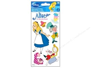 Mary's Productions $6 - $7: EK Disney Sticker 3D Large Alice In Wonderland