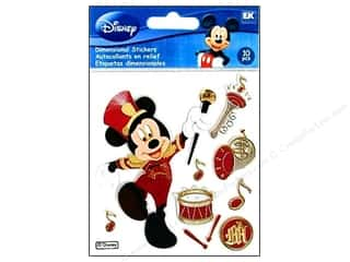 Clearance Artbin Yarn Drum: EK Disney Sticker 3D Mickey Parade