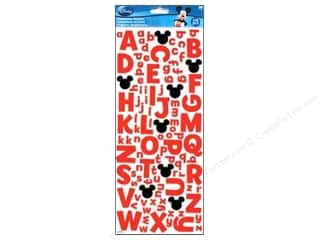 Licensed Products ABC & 123: EK Disney Sticker Mickey Foam Alphabet