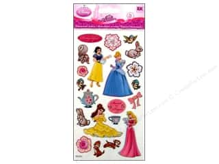 EK Disney Sticker 3D Puffy Princess Sweet As Sugar