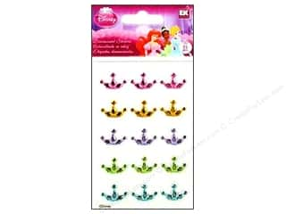 Disney Stickers: EK Disney Sticker 3D Gems Princess Crown