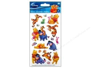 EK Disney Sticker Winnie The Pooh And Friends