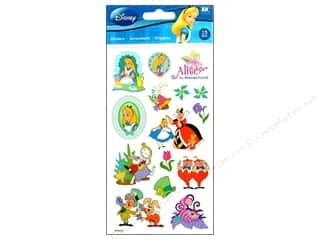 Licensed Products Scrapbooking & Paper Crafts: EK Disney Sticker Alice In Wonderland