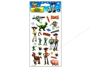 Toys Brown: EK Disney Sticker Toy Story