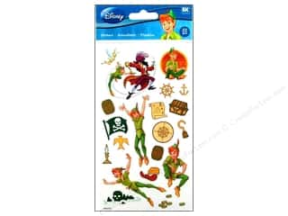 Licensed Products $2 - $3: EK Disney Sticker Peter Pan