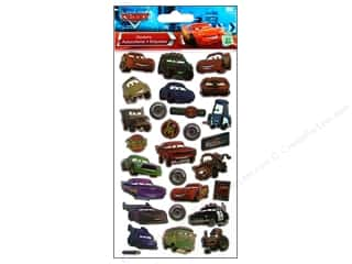 Transportation Stickers: EK Disney Sticker Cars
