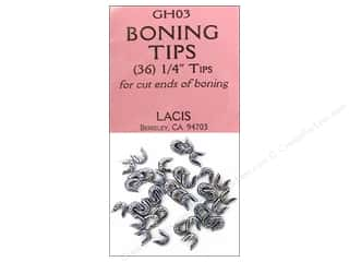 "Lacis Undergarment Accessories: Lacis Boning Tips 1/4"" 36pc"
