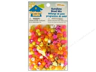 Party Supplies Orange: Sulyn Clubhouse Crafts Bead Mix Sunshine 270pc
