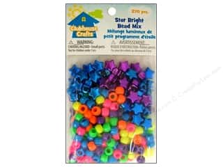Party Supplies Metallic: Sulyn Clubhouse Crafts Bead Mix Star Bright 270pc