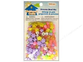 Kids Crafts Beading & Jewelry Making Supplies: Sulyn Clubhouse Crafts Bead Mix Princess 300pc