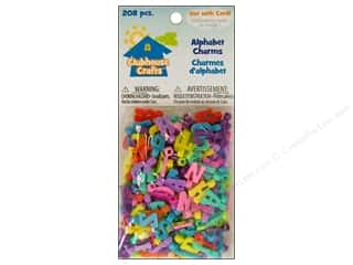 Weekly Specials Kid's Crafts: Sulyn Clubhouse Crafts Alphabet Charms 208pc