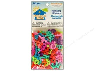 Sulyn Clubhouse Crafts Numbers Charms 210pc