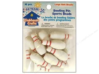 Sulyn Clubhouse Crafts Sports Beads Bowling Pin