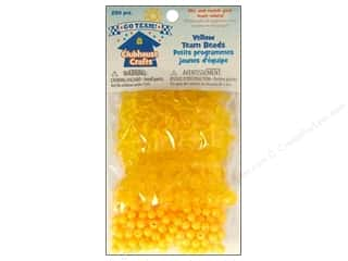 Sulyn Clubhouse Crafts Team Beads Yellow 230pc