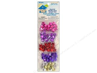 Party Supplies Metallic: Sulyn Clubhouse Crafts Sample Pack Assorted Metallic Star