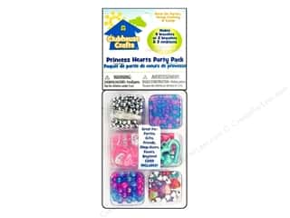 Kid Crafts Beads: Sulyn Clubhouse Crafts Beads Party Pack Princess Hearts