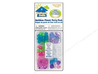 Sulyn Clubhouse Crafts Beads Party Pack Rainbow Flower