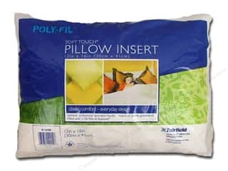 "Pillow Shams Craft & Hobbies: Fairfield Pillow Form Soft Touch Poly Fill Supreme 12""x 16"""