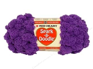 Clearance TLC Essentials Yarn: C&C Red Heart Spark A Doodle Yarn 3.5oz Iced Grap