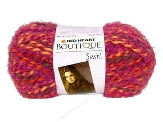 C&amp;C Red Heart Boutique Swirl Yarn 3oz Floral