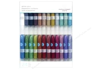glitter glue: Martha Stewart Glitter Glue Set 24pc