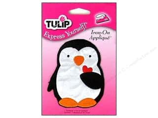 Tulip Iron On Applique Medium Penguin