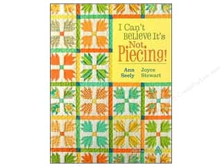 Books Clearance: I Can't Believe It's Not Piecing Book