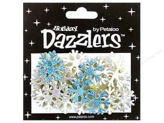 Petaloo Sticker Dazzlers Holiday Winter Snowflakes