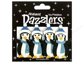 Petaloo Sticker Dazzlers Holiday Winter Penguins