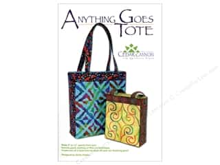 Clearance: Anything Goes Tote Pattern