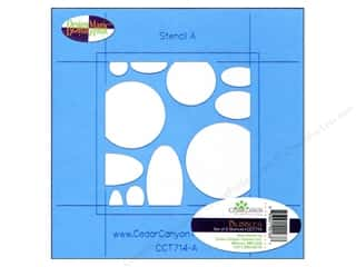 Clearance: Cedar Canyon Stencils Bubbles