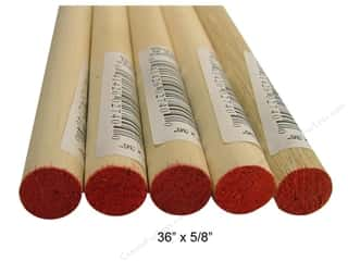 "Wood Dowels 36 x 5/8 in."" (15 pieces)"
