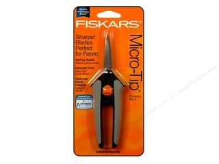 "Scissors Sewing & Quilting: Fiskars Scissor 5"" Spring Action Micro-Tip"