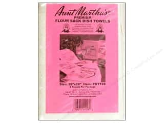 "Aunt Martha's Towels Flour Sack 28""x 28""  2pc"