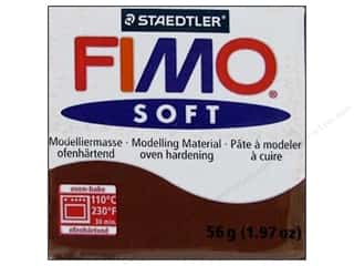 School Black: Fimo Soft Clay 56gm Chocolate