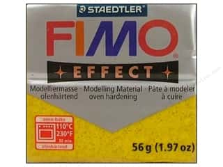 Fimo Soft Clay 56gm Glitter Gold