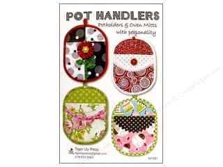 Holiday Gift Ideas Sale: Tiger Lily Press Pot Handlers Pattern