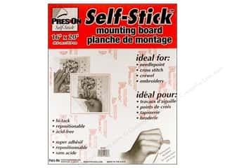 "Stitchery, Embroidery, Cross Stitch & Needlepoint: Pres-on Self-Stick Hi-Tack Mount Board 16""x 20"" (3 pieces)"